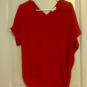 Size small loft oversized blouse